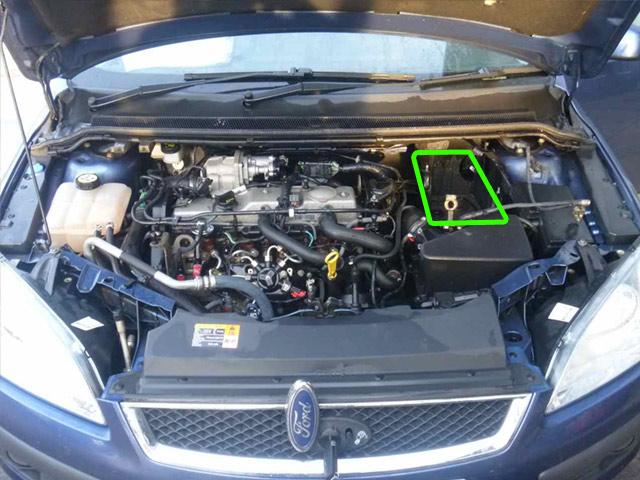 Ford Galaxy Car Battery Location